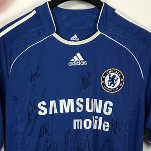wholesale dealer 6d541 366f5 SIGNED Chelsea Football Club 2006-2008 Home Shirt! NWT
